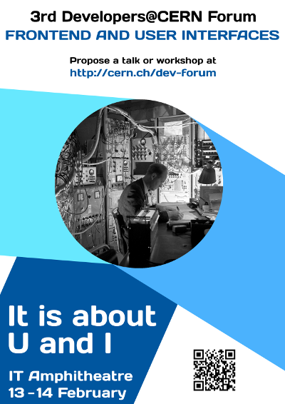 3rd Developers@CERN Forum